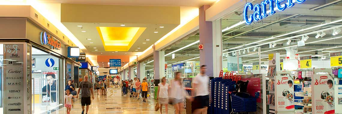 Shopping center Dos Mares Shopping